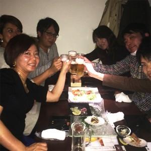 神戸ゆるり会乾杯