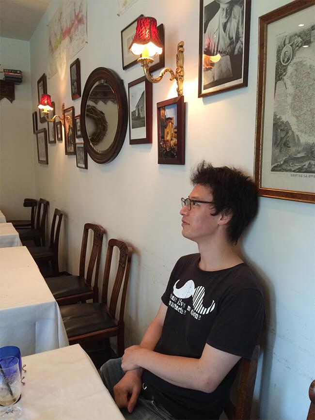 レストラン店内