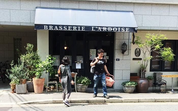 ブラッセリ―ラルドワース