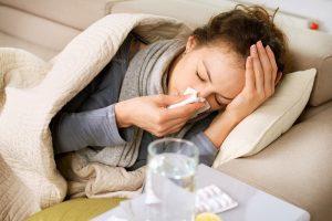 インフルエンザ、風邪